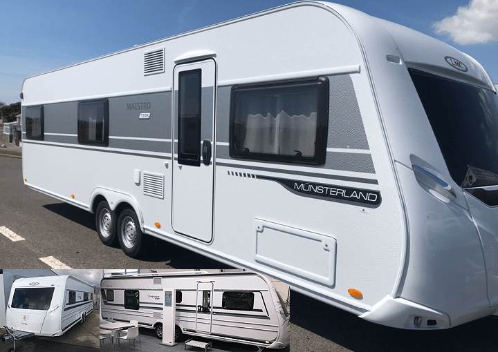 New and used Hobby and LMC caravan dealer as well as